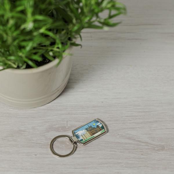 Art Deco Key Ring Style