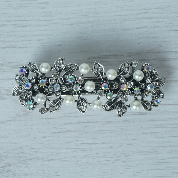 Crystal Barrette Hairclip