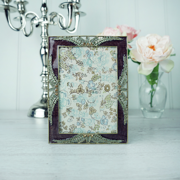 Decorative Frame - fern design