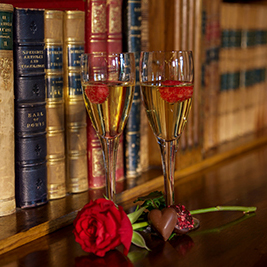 Exclusive Valentines Champagne and Canapés Reception