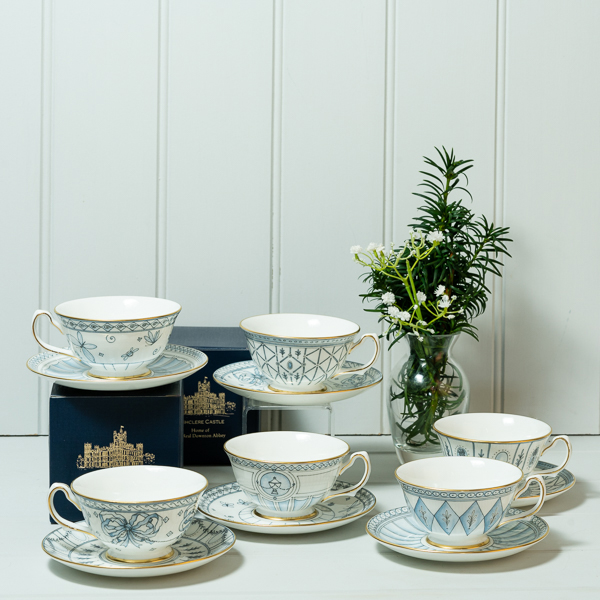 Highclere Castle  Tea Cup and Saucer