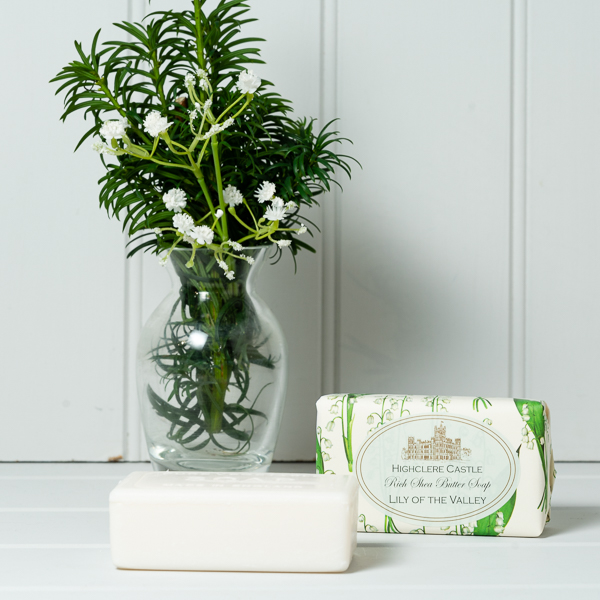Highclere Castle Vintage Style Soap - Lily of the Valley