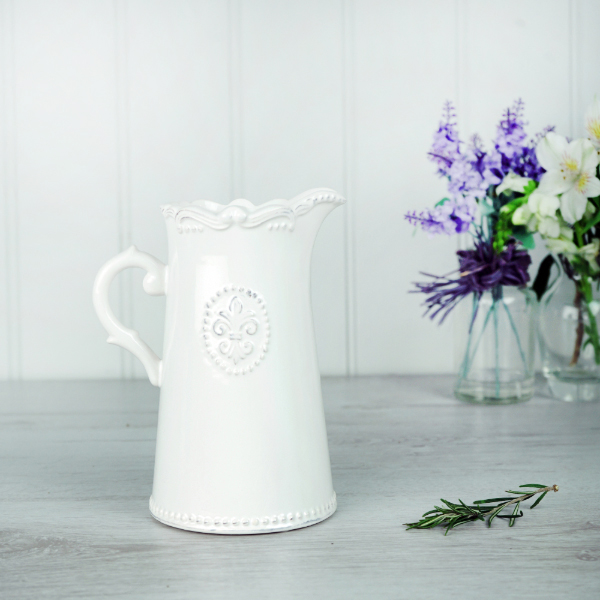 Jug - Fleur de Lys