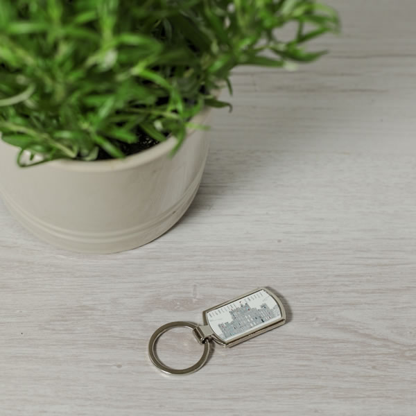 Monochrome Style Key Ring