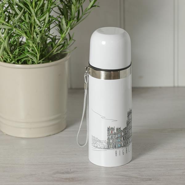 Monochrome Thermos Flask