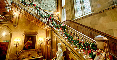 Christmas Tours & Afternoon Tea. 28/30 Nov. 1/12 December