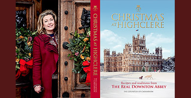 Lady Carnarvon's Christmas at Highclere Book Talk & Tours. 7/13 December