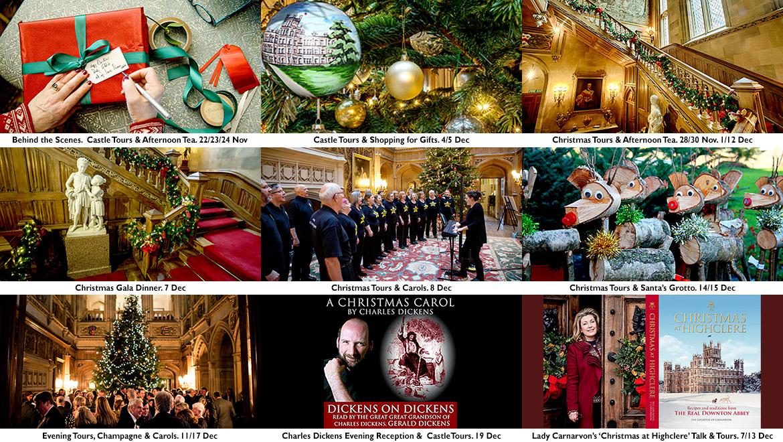 Christmas Tours.Christmas At Highclere