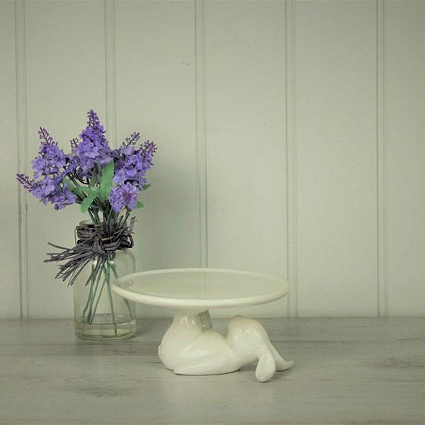 Rabbit Cupcake Plate