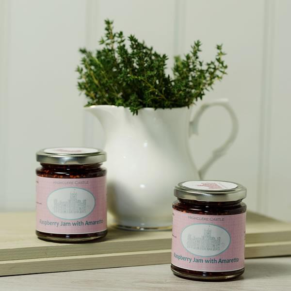 Raspberry with Amaretto Jam