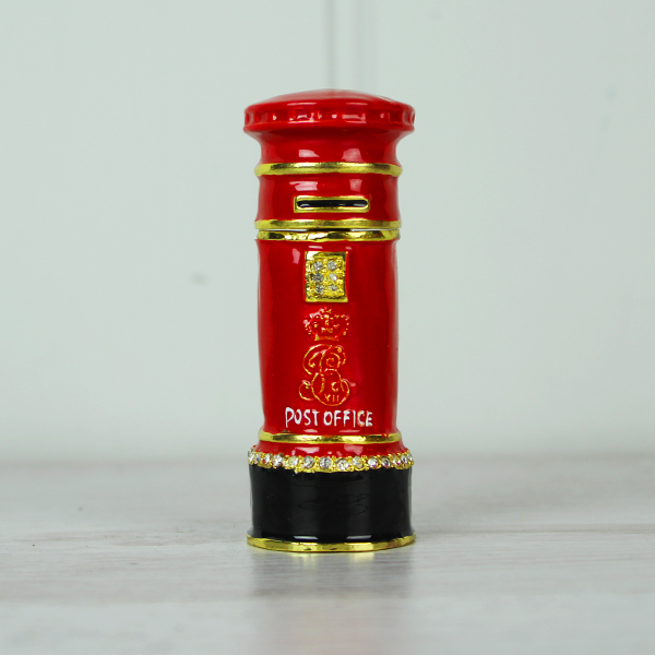 Red Post Box trinket Box