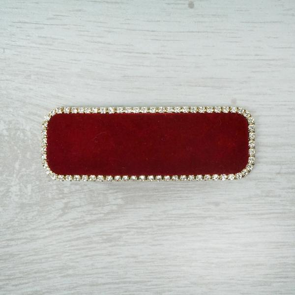 Red Velvet Hairclip