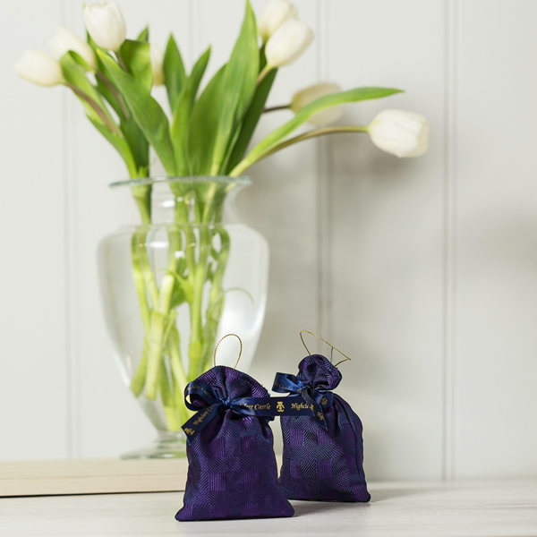 Silk Lavender Bag
