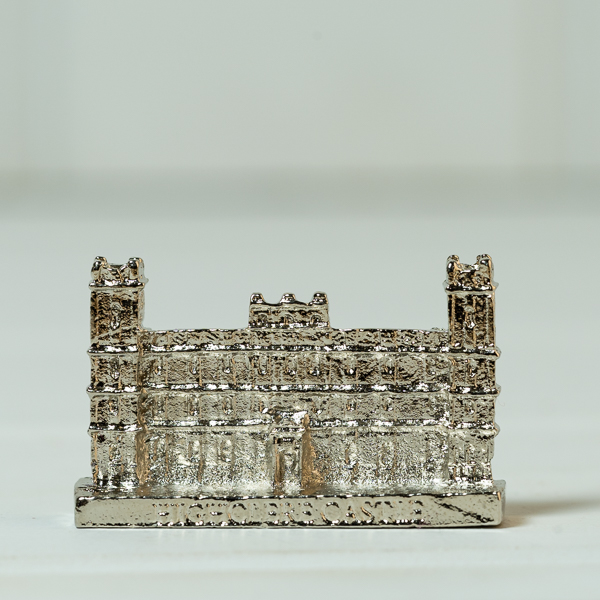 Silver Plate Highclere Castle Magnet