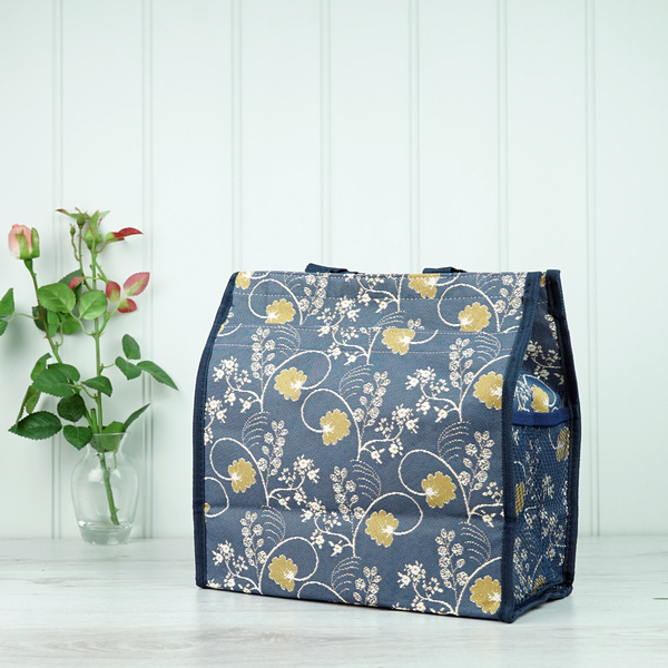 Tapestry Bag - Blue and Gold