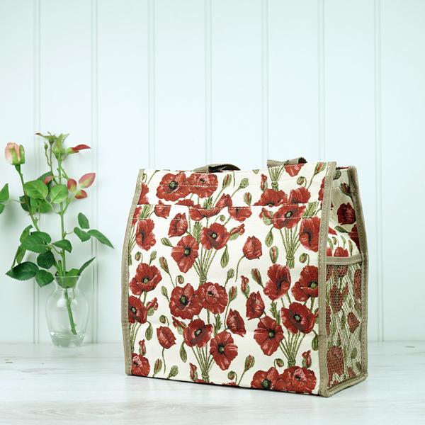Tapestry Bag - Poppy