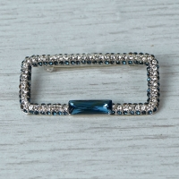 1920's Inspired Diamante Brooch