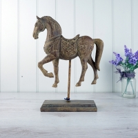 Antique style Horse Ornament