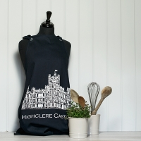 Navy Blue Canvas Apron