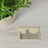 Architectural Style Fridge Magnet