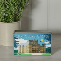 Art Deco Style Biscuit Tin