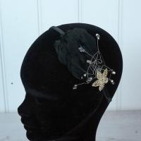 Black Flapper Style Hairband