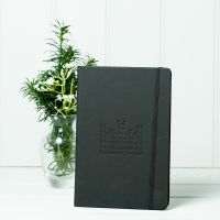 Black Leather Style Notebook