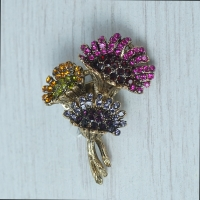 """Bouquet"" Brooch"