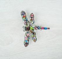 Bright Dragonfly Brooch