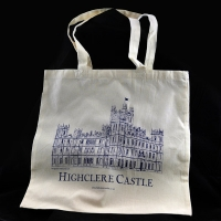 Calico Shopper Bag - Navy
