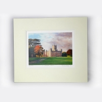 Castle Print: Print of an Oil Painting by Ronnie Sichel