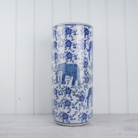 Elephant Ceramic Umbrella Stand