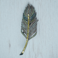 """Feather"" Brooch"