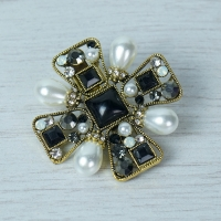 Medieval Cross Brooch