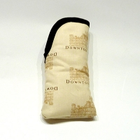 "Cream ""Downton Abbey"" Glasses Case"