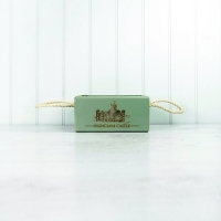 Vintage Style Green Wooden Box - Small