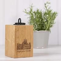 Hand Made Wooden Doorstop made from Highclere Oak