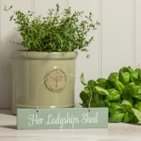 Her Ladyship's Shed Sign