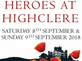 Heroes at Highclere - Sat 8th/Sun 9th September