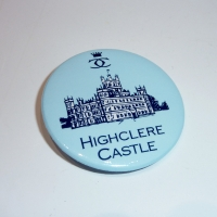 Highclere Castle Button Badge