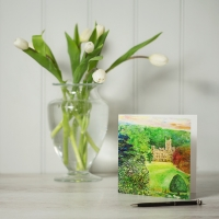 Highclere Castle Greetings Card