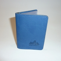 Highclere Leather Credit Card Case