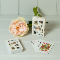 Highclere Playing Cards - Cream