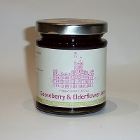 Gooseberry and Elderflower Jam