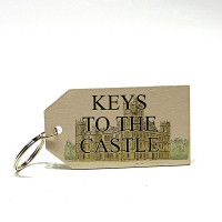 """Keys to the Castle"" Keyring"
