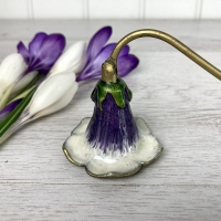 Lilac Flower Candle Snuffer