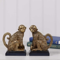 Monkey Bookends