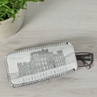 Monochrome Style Glasses Case