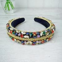Multi Coloured Jewelled Hairband