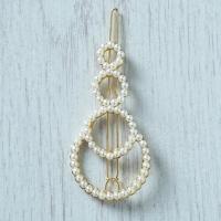 Pearl Circles Hair Clip